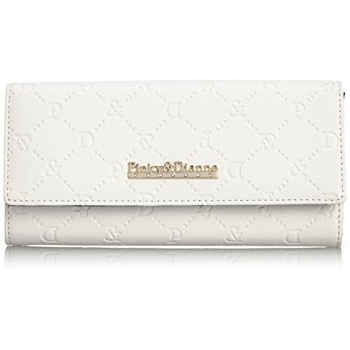 [ピンキーアンドダイアン] Pinky&Dianne サフィアーノエンボス 薄型長財布 PDLW4TT2 00 (ホワイト)