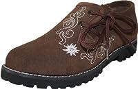 Bavarian Trachten Shoes Haferlschuhe in Dark Brown