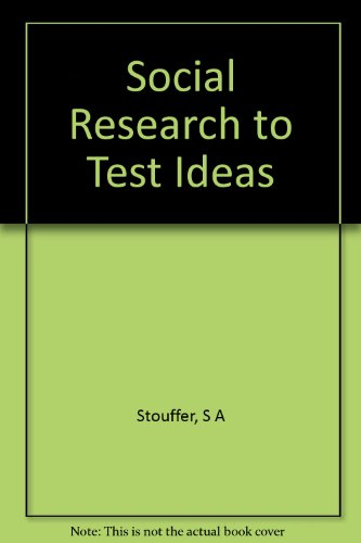 social-research-to-test-ideas