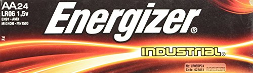 Energizer AA Alkaline Industrial Value Pack Batteries 24 pk (24 Battery compare prices)
