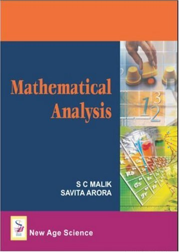 Mathematical analysis: 9789385923869: amazon. Com: books.