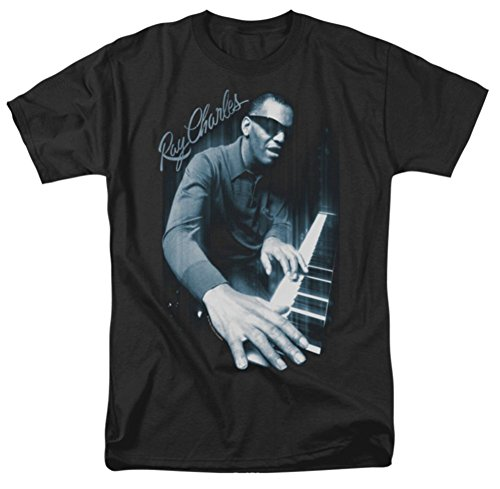 Blues Piano Ray Charles T-Shirt RC101