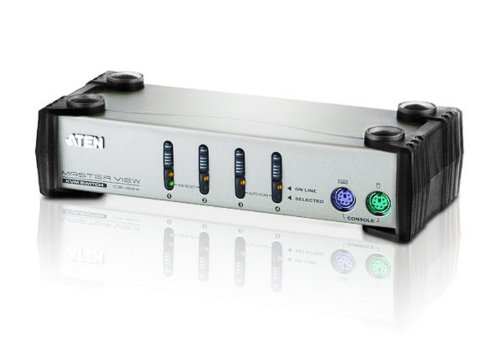 Aten MasterView CS84 Switch KVM pour 4 ordinateurs PS2