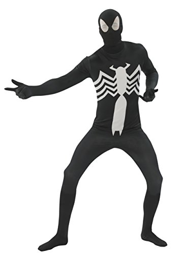 Rubie's Costume Men's Marvel Universe Black Spiderman Adult 2Nd Skin Costume