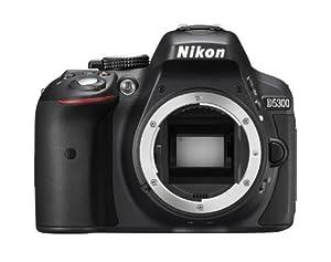 Nikon D5300 Appareil photo numérique Reflex 24.78 Boîtier nu Noir