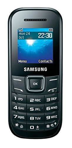Samsung Keystone 2 GT-E1205Q Cellphone Unlocked, Black