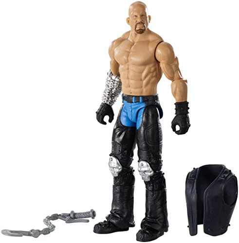 WWE - Action Figure di motociclista Stone Cold