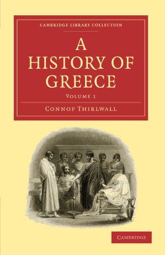 Une histoire de la Grèce (Collection de la bibliothèque de Cambridge - Classics)