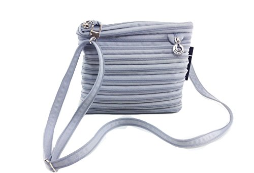 BORSA ZIP SPORTIVA A TRACOLLA COLOR GHIACCIO BY GHOSTZIP