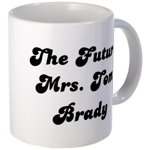 Cafepress The Future Mrs. Tom Brady Mug - S White
