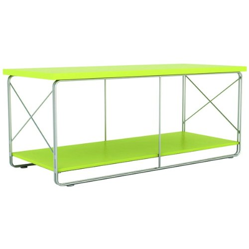 Image of ATLANTIC 88335645 50 CITY SERIES DOUBLE WIRE TV STAND (WILD LIME/SILVER METALLIC) (PEATL88335645)