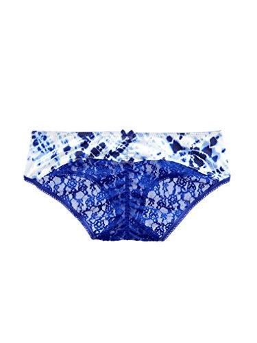 VICTORIA'S SECRET ヴィクトリアシークレット/ビクトリアシークレット Cotton Lingerie ルッチドバック ヒップハンガーパンティー ( 794-Zeplin Tie Dye Print ) サイズ:XS