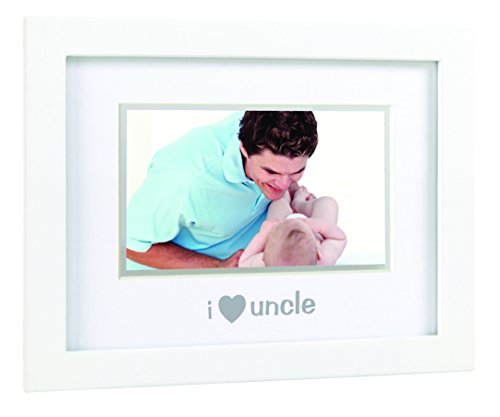 Pearhead Sentiment Frame, I Love My Uncle/White