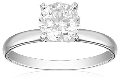 IGI-Certified-14k-White-Gold-Classic-Round-Cut-Diamond-Engagement-Ring-15-carat-H-I-Color-SI1-SI2-Clarity
