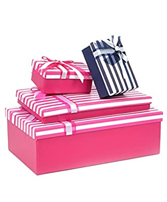 "Boxed-Gifts's Elegant Gift Box Set ""Pink"""