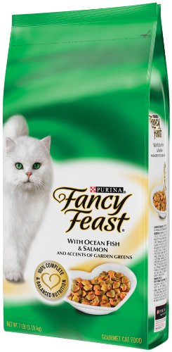 Purina Fancy Feast Gourmet Cat Food, Ocean Fish and Salmon, 7-Pound Bag
