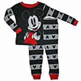 Mickey Mouse Toddler Boys 12M-5T Cotton Sleepwear Set