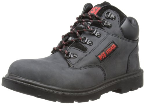 PSF Mens Safety Boots 520 Black 7 UK, 41 EU, Regular