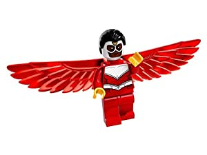 Marvel Lego Falcon Minifigure from lego set 76018 - New Release Minifigure
