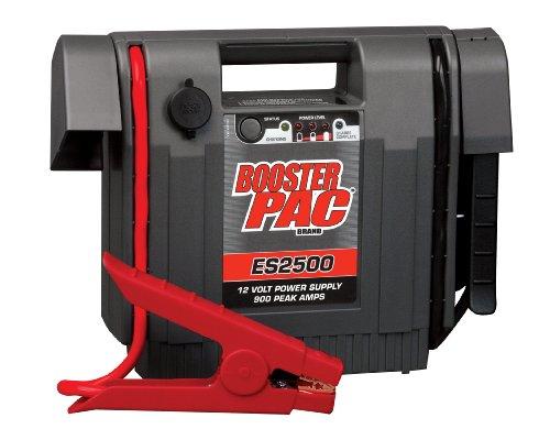 Clore ES2500C 'Booster PAC' 900 Peak Amp 12V Jump Starter, CEC Compliant