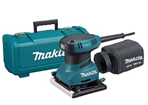 Makita BO4556K 2.0 Amp 4-1/2-Inch Finishing Sander with Case
