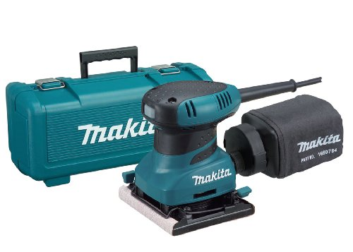 Link to Makita BO4556K 2.0 Amp 4-1/2-Inch Finishing Sander with Case