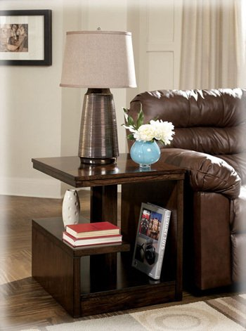 Image of Callum Rectangular End table by