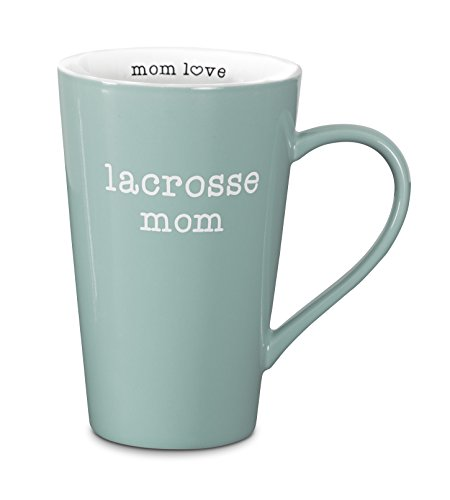 Pavilion Gift Company 14113 Lacrosse Mom Latte Mug, 18-Ounce, Mom Love