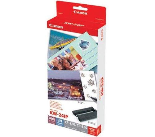 Kit encre + papier photo 10 x 20 cm - format panoramique - 24 photos (KW-24IP) 400