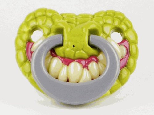 Billy Bob Teeth 90045 Gator Baby Pacifier