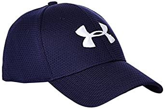 Under Armour Men's UA Blitzing Stretch Fit Cap Combo Large & Extra Large Midnight Navy