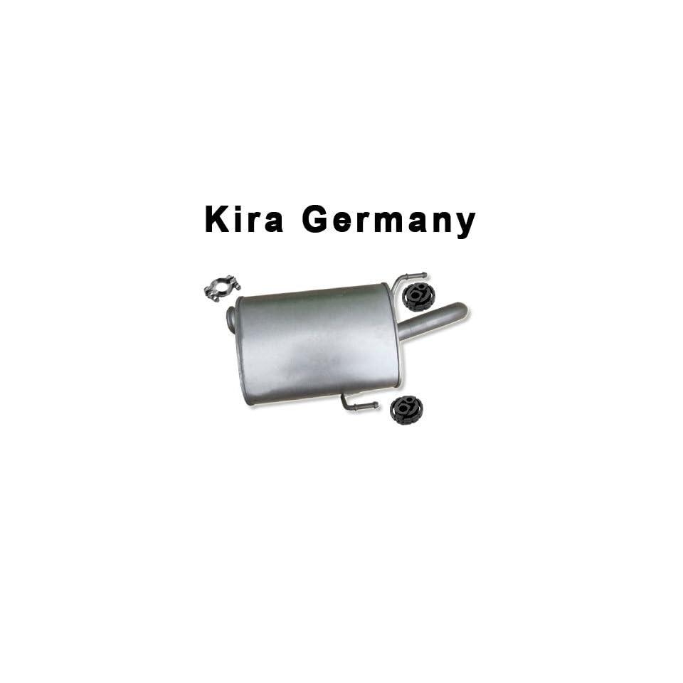 D Diesel Auspuff Mitteltopf PEUGEOT 106 1,4 1,5 1,6
