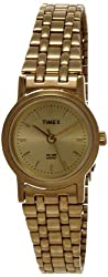 Timex Classics Analog Gold Dial Womens Watch - B304