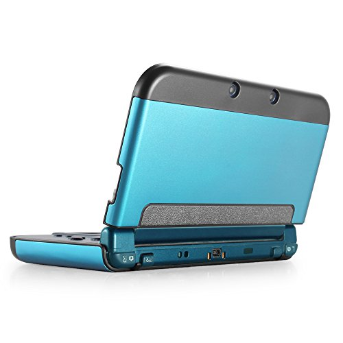 TNP New 3DS XL Case (Light Blue) - Plastic + Aluminium Full Body Protective Snap-on Hard Shell Skin Case Cover for New Nintendo 3DS LL XL 2015 (3ds Starter Kit Zelda compare prices)