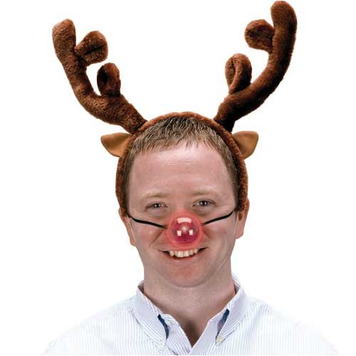 Plush Reindeer Antlers Headband - Buy Plush Reindeer Antlers Headband - Purchase Plush Reindeer Antlers Headband (Rubies, Toys & Games,Categories)