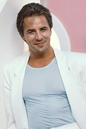 Don Johnson Miami Vice Color 24X36 Poster White Jacket at Amazon's