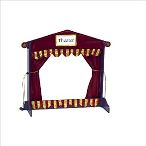Guidecraft Royal Tabletop Puppet Theater by GUIDECRAFT
