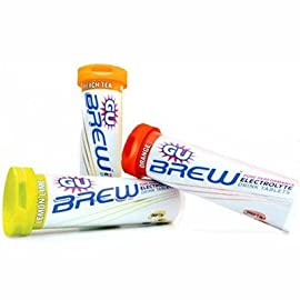 GU Sports Brew Electrolyte Tablets - Box of 10-Tubes