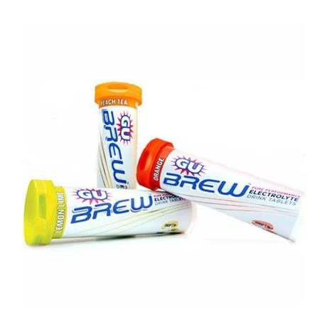 GU Sports Brew Electrolyte Tablets - Box of 10-Tubes