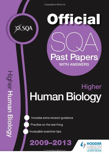 SQA Past Papers 2013 Higher Human Biology