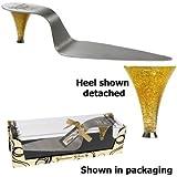 High Heel Cake Server Gourmet Glam Heel Wild Eye Designs