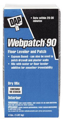 Webpatch 90 Floor Leveler And Patching Compound