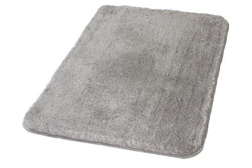 kleine wolke 5405189225 badteppich relax 70 x 120 cm grau. Black Bedroom Furniture Sets. Home Design Ideas