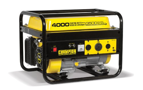 Champion Power Equipment 46596 4000-Watt Portable Generator