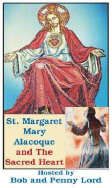 Saint Magaret Mary Alacoque and the Sacred Heart
