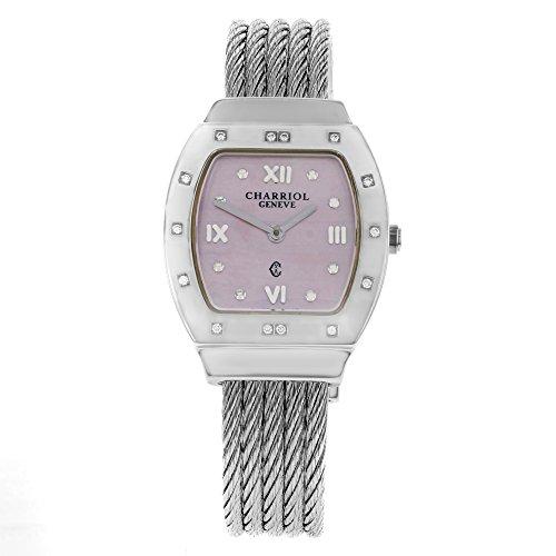 Charriol Azuro Azurtd.540.913R Stainless Steel Quartz Ladies Watch
