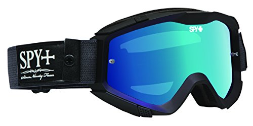 Spy Klutch MX Goggles - Olde No, 9, Smoke W/Light Blue Spectra Clear +, One Size, 323008050974