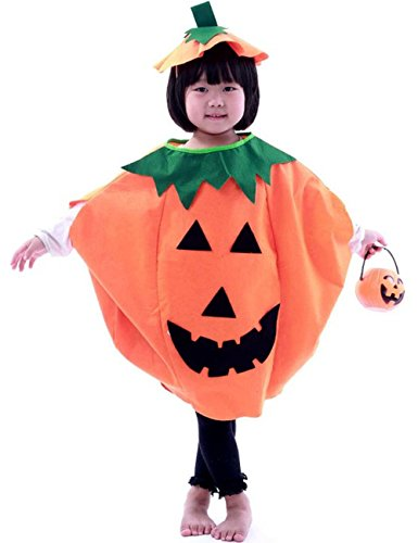 Children's Halloween Costume Masquerade Pumpkin Clothes