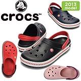 1-ブラック/レッド M4-W6(22.0) クロックス クロックバンド ミッキー クロッグ 3.0 crocs crocband mickey clog 3.0 14608 サンダル レディース メンズ