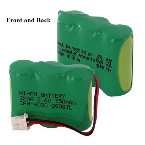 Replacement Battery For 1X3-2/3AA/C CONNECTOR - NiMH 3.6V 600mAh WANDERER